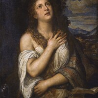 113. workshop of tiziano vecellio, called titian | the penitent magdalen