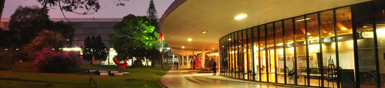 Exterior View, Museu de Arte Moderno de São Paulo