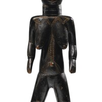 23. statue, dan, côte d'ivoire |