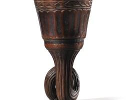 99. coupe en ivoire, royaume du kongo, ca. xviiie siècle, république démocratique du congo |