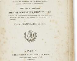 52. champollion, [jean-françois]