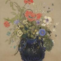 147. odilon redon | vase de fleurs