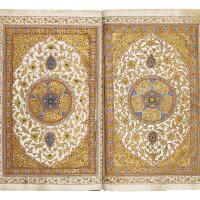 43. an illuminated qur'an, north india or kashmir, 19th century  