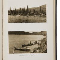 16. [canada]— bradley w. palmer. 'moisie river [and] moisie river portages, lakes, heights of land'. boston: privately printed by geo. h. ellis co., 1938