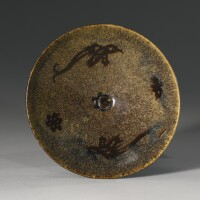 28. a 'jizhou'-type paper-cut resist-decorated conical bowl southern song dynasty