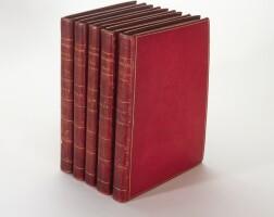 8. donovan, the natural history of british birds, 1799, 5 volumes