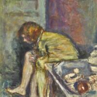 161. pierre bonnard | jeune femme assise