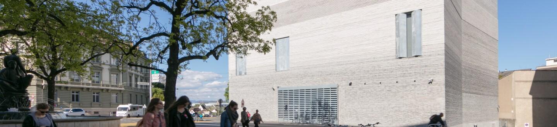 Exterior View, Kunstmuseum Basel | Neubau