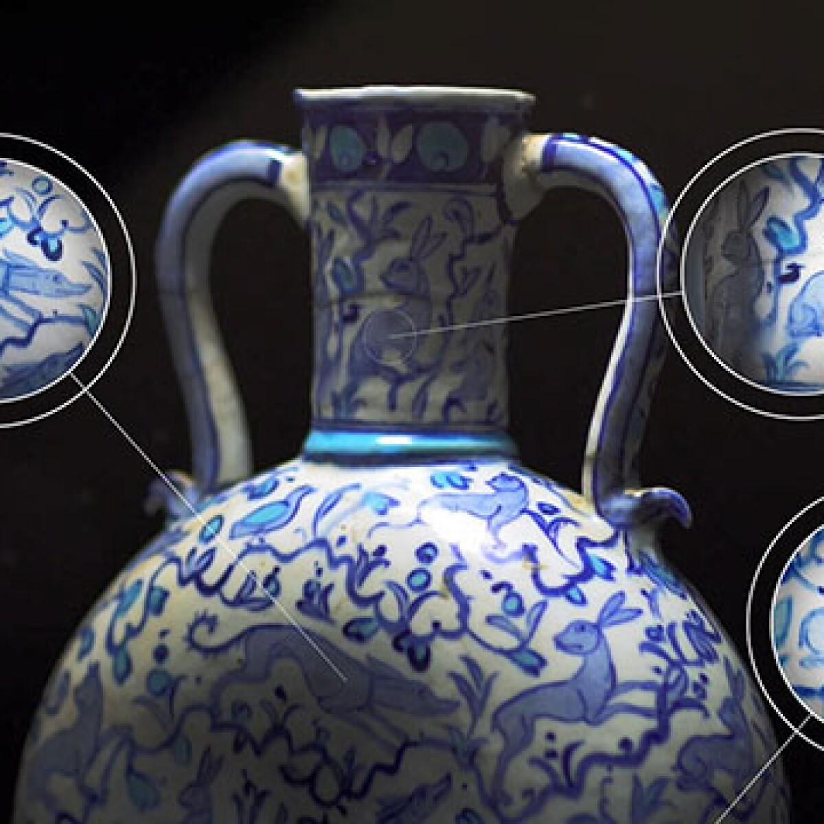 Anatomy of an Artwork: A Unique Iznik Pilgrim Flask