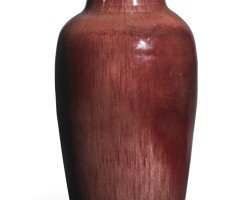 111. a 'langyao' baluster vase qing dynasty, kangxi period |