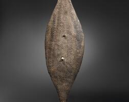2. a broad shield, lower murray river, south australia 19th century