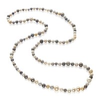 535. cultured pearl necklace