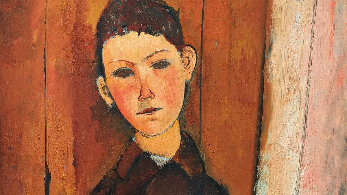The Modigliani Portrait Not Seen in a Century