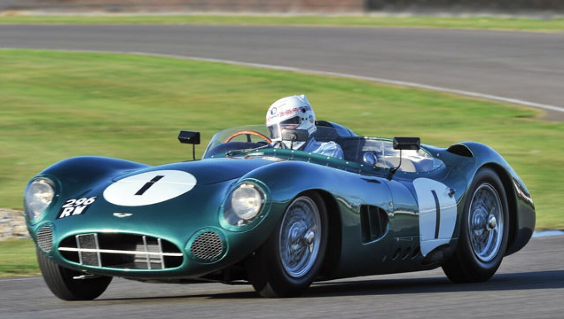 6 Aston Martin Competition Cars Going For Green In Monterey Sotheby S