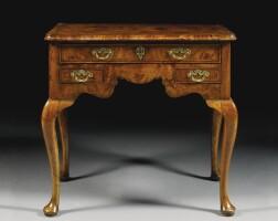 325. a george i walnut lowboy circa 1720