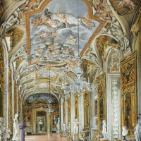 23. victor edelsteinborn in1946 | view of the gallery of palazzo doria pamphili, rome