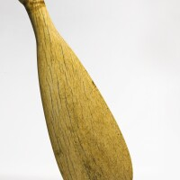 8. maori whalebone hand club, new zealand