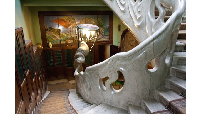 Inside the Gorky House