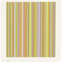 103. bridget riley | ygbr. four colours, visual violet