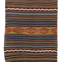 10. classic navajo child's blanket, four corners area