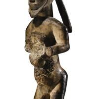 227. statuette, bembé, république du congo |