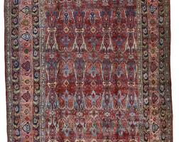 48. a bijar carpet, northwest persia