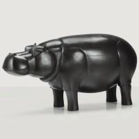 6. françois-xavier lalanne   hippopotame iii, designed in 1991,realised in 2000