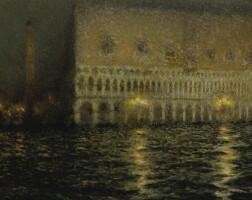 112. henri le sidaner   le palais ducal