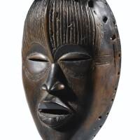 79. masque, dan toura, côte d'ivoire