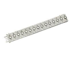 344. diamond bracelet, 1920s