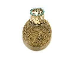 1609. k金, 綠松石,鑽石及紅寶石硬幣袋,梵克雅寶(van cleef & arpels)