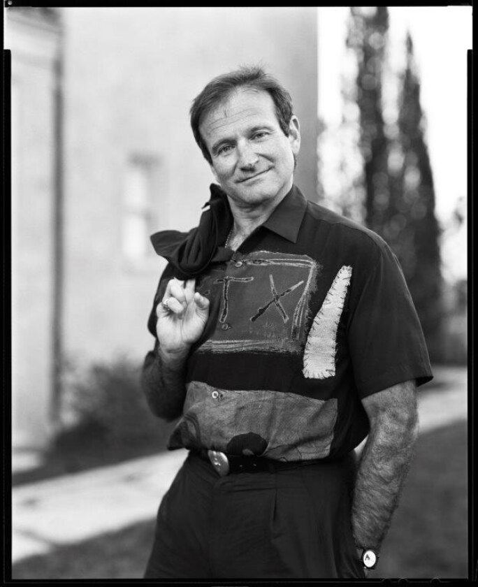 Robin Williams on Easter, San Francisco, 1995.