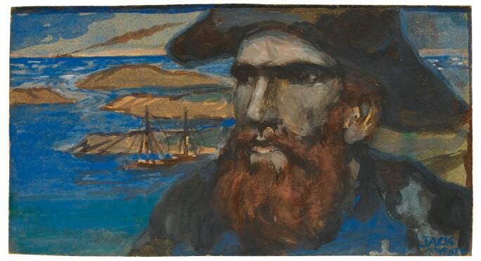 Jack B. Yeats, The Sea Captain. Estimate £25,000-35,000.