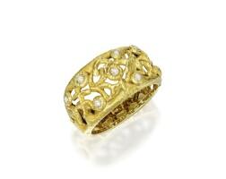 23. gold and diamond bracelet, cannilla for masenza