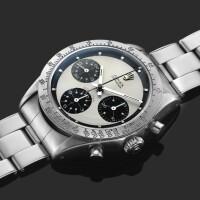 255. 勞力士(rolex) | 6239型號「'paul newman' daytona」精鋼計時腕錶,年份約1970。