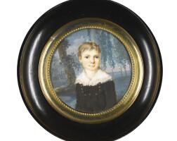 740. A group of four Portrait Miniatures