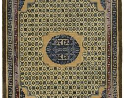3644. a ningxia carpet northwest china, circa 1800