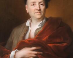 22. joseph vivien | portrait of jean-françois guillieaumon (1672-1758)