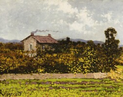 65. enrico reycend   house in the countryside