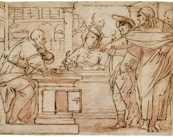 321. luca giordano, called fa presto | the calling of saint matthew