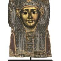 3050. 托勒密晚期至羅馬初期 (約公元前一世紀) 埃及木乃伊面具