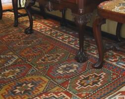 16. moghan kazak rug, south caucasus