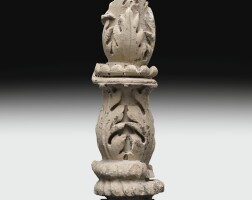 41. a romanmarble architectural element with acanthus decoration, circa2nd century a.d. | a romanmarble architectural element with acanthus decoration