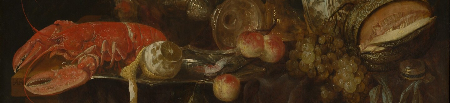 Abraham van Beyeren, Still Life with Lobster and Fruit, probably early 1650s (2).jpg