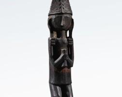 48. statuette, île de nias, indonésie |