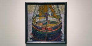 Escape and Experimentation in Egon Schiele's 'Trieste Fishing Boat'