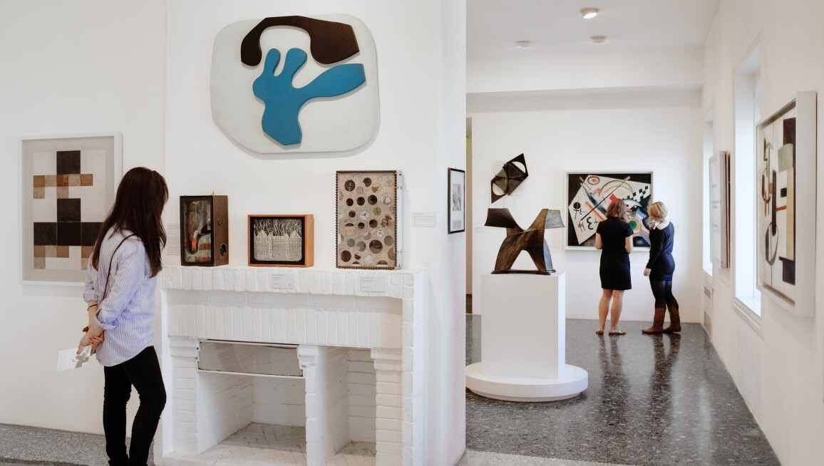 Interior view, Peggy Guggenheim Collection
