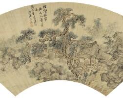 2508. 張照 1691 - 1745 | 松壑幽泉