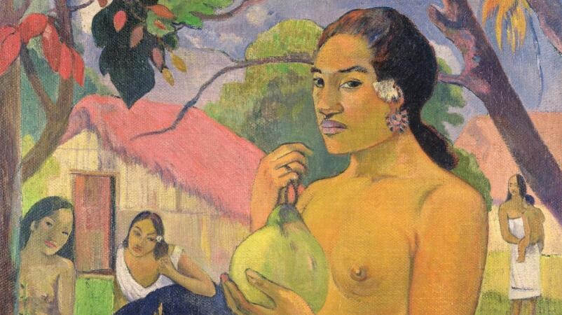 "Paul Gauguin's ""Woman Holding a Fruit"" Captures the Exoticism and Mystique of the Tropics"