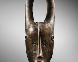 243. masque, guro, côte d'ivoire  